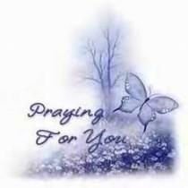 Praying f