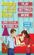 Angry Girlfriend FastFood Race
