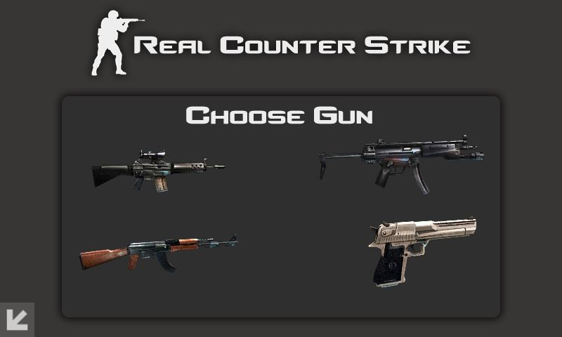 لعبة القنص Real Counter Strike