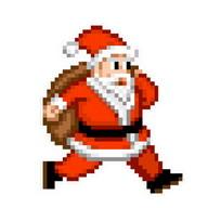 Santa's coming: run & jump