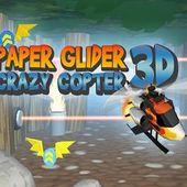 Paper Glider. Crazy Copter 3D