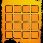 Toddler Halloween Memory Game