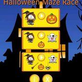 Halloween Maze Race