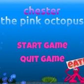 Chester the pink octopus