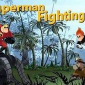 Superman Fighting
