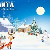 Santa Saves X-Mas Gifts