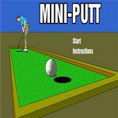 2D Mini Golf Putt