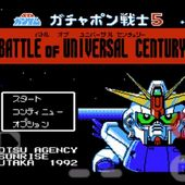 SD Gundam - Gachapon Senshi 5 - Battle of Universal Century For Android