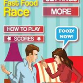 Angry Girlfriend FastFood Race