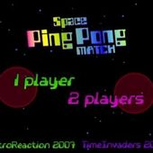 Space Ping Pong Match