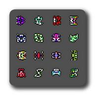 Random game sprite generator