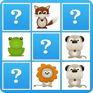 Animals Memory Game For Kids