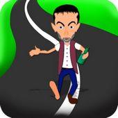 Crazy Drunk Man Running Game