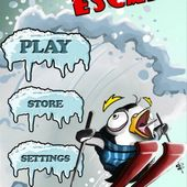 Penguin Rush : Skiing fred