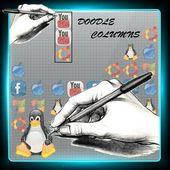 Doodle Columns: Paper Drawn
