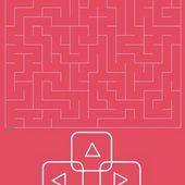 minimalistic labyrinth
