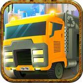 Fast Trash Truck Gold