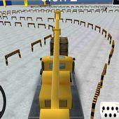 Construction Crane parking 3D