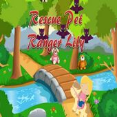 Rescue pet team Ranger Lily game free