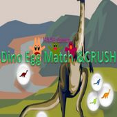 Dino Egg Match and Crush game free