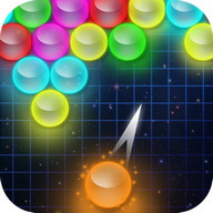 bubble shooter glow