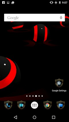 SHIELD ICON LAUNCHER ANDROID HD