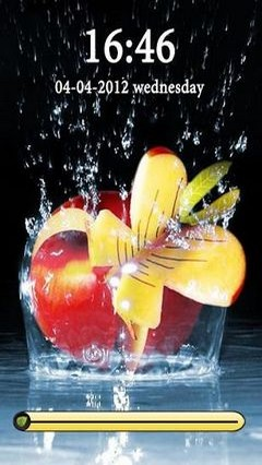Mystic Apple In Water