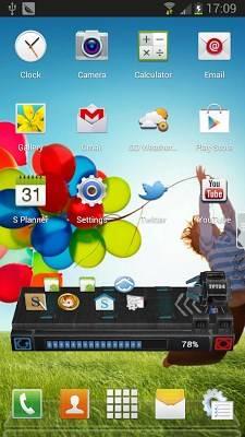 Galaxy S4 Next Launcher Theme