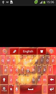 Fire Skull Keyboard