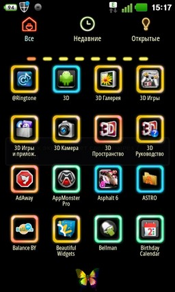 Colorful GO Launcher EX Themes 1.5