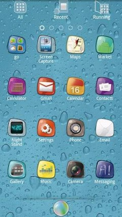 Summer Fruits golauncher theme