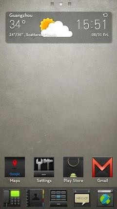 HI-Black GO LauncherEX Theme