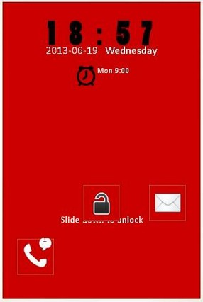 RED GO LOCKER