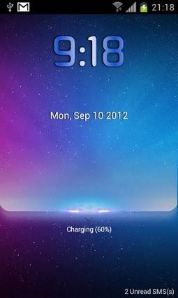 Starry lock screen-MagicLocker
