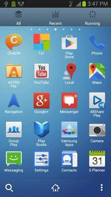Galaxy S4 Theme Go Launcher EX