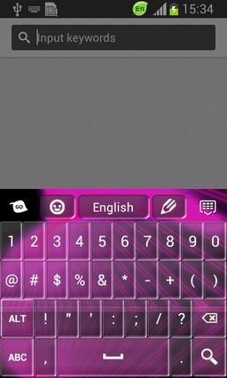 Reflexing Neon Keyboard-release