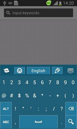 Flat Design Keyboard-release