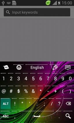 Lightening Colors Keyboard-release