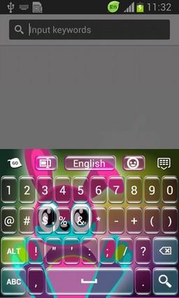 Neon Bunny Keyboard-release