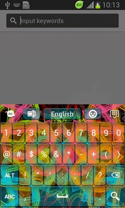 Happy Colors Keyboard