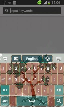 Abstract Tree Keyboard