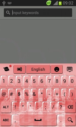 Pink Keyboard for Galaxy S3