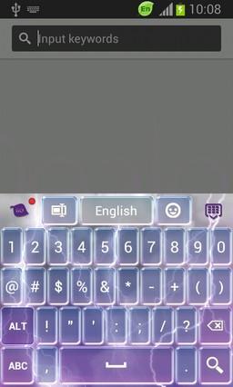 White Storm Keyboard