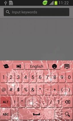 Pink Symphony Keyboard