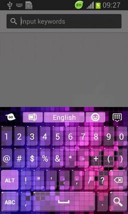 Fashion Light Keyboard