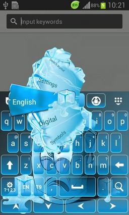 Ice Bucket Keyboard