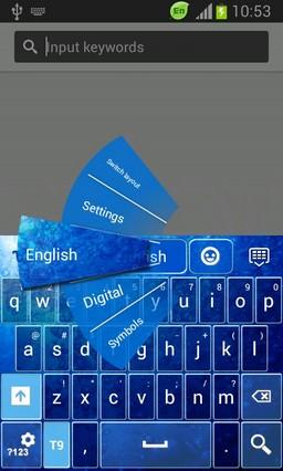 Keyboard for Galaxy Stellar