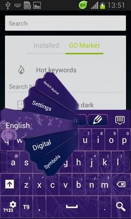 Keyboard Violet Theme