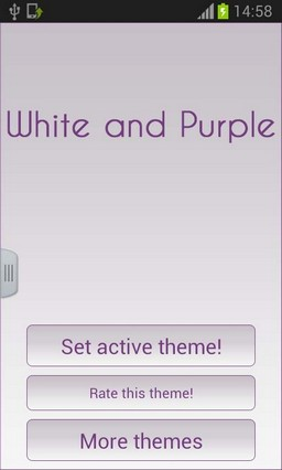 White and Purple Keyboard