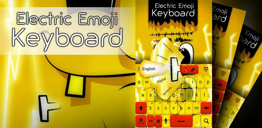 Electric Emoji Keyboard